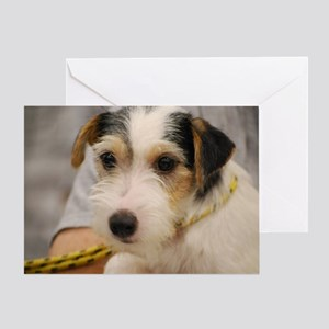 Parsons Terrier Greeting Card