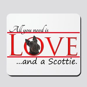 Love a Scottie Mousepad