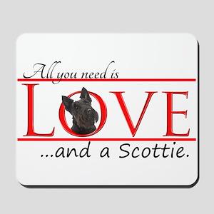Love a Scottie Mousepad