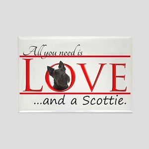 Love a Scottie Magnets