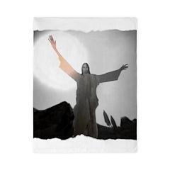 Jesus Raises Lazarus From The Dead Twin Duvet