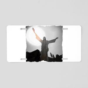 Jesus Raises Lazarus From The Dead Aluminum Licens