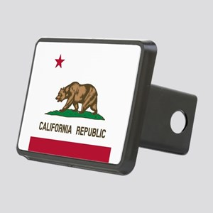 Flag of California Rectangular Hitch Cover