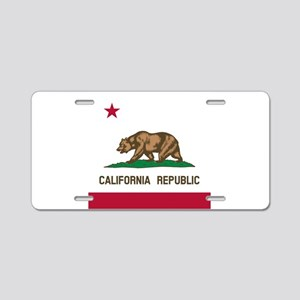Flag of California Aluminum License Plate