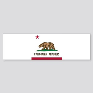 Flag of California Bumper Sticker