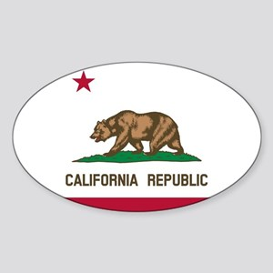 Flag of California Sticker