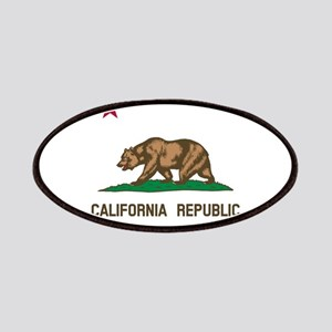 Flag of California Patches