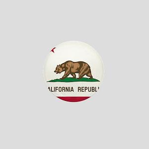 Flag of California Mini Button