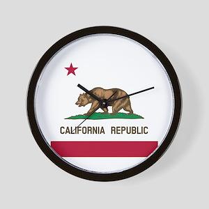 Flag of California Wall Clock