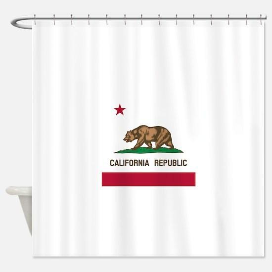 Flag of California Shower Curtain
