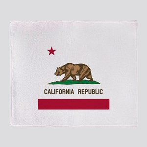 Flag of California Throw Blanket