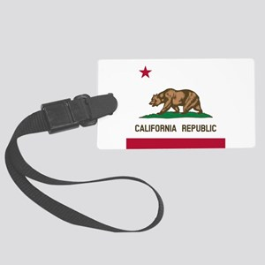Flag of California Large Luggage Tag
