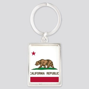 Flag of California Keychains