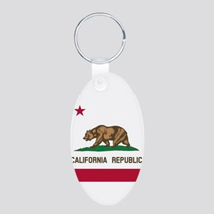 Flag of California Keychains
