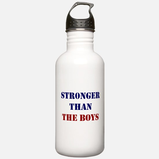 Stronger Than the Boys Water Bottle