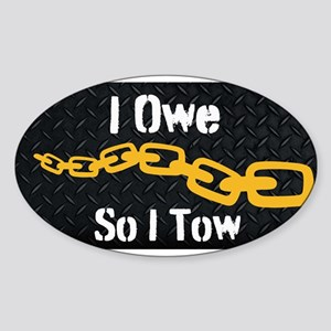 Tow Truck Driver Sticker
