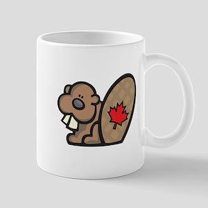 Cute Canadian Beaver Mug