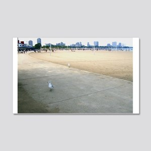 Seagulls on the Lakeshore Wall Decal
