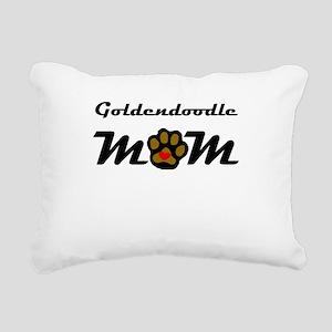 Goldendoodle Mom Rectangular Canvas Pillow