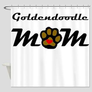Goldendoodle Mom Shower Curtain