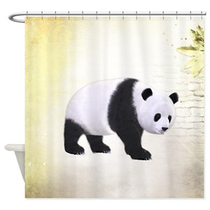 Animals Panda Bear Shower Curtains