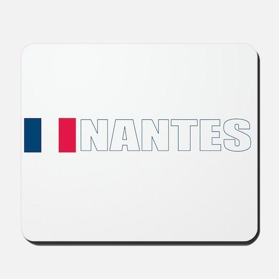 Nantes, France Mousepad