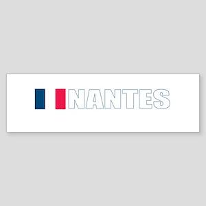 Nantes, France Bumper Sticker