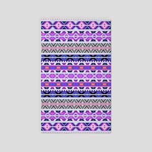 Mix #548, Purple Aztec 3'X5' Area 3'X5' Area Rug