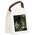 Daniel And The Lions Den Canvas Lunch Bag