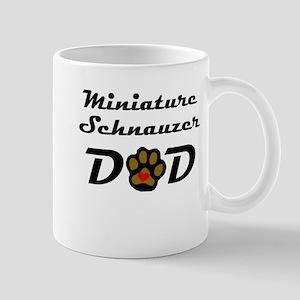 Miniature Schnauzer Dad Mugs