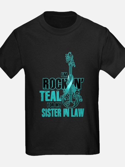 RockinTealFor SIsterInLaw T-Shirt