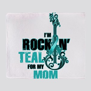 RockinTealFor Mom Throw Blanket