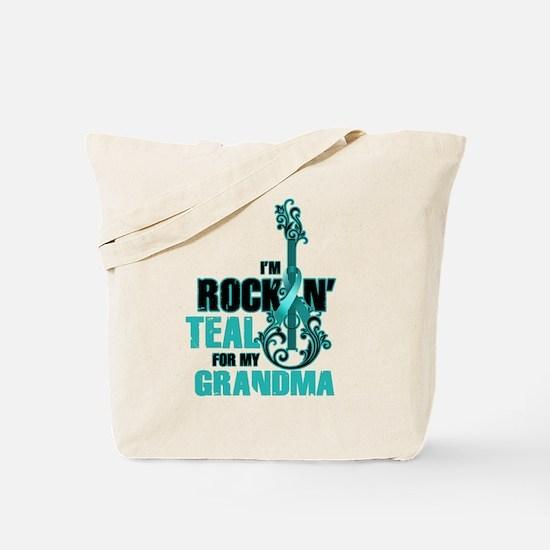 RockinTealFor Grandma Tote Bag