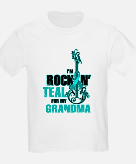RockinTealFor Grandma T-Shirt