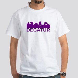Decatur Alabama White T-Shirt