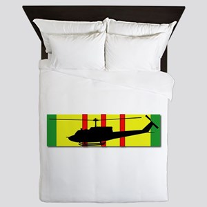 Vietnam - Aviation - Air Assault Queen Duvet