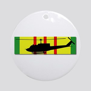 Vietnam - Aviation Air Assault Round Ornament