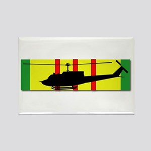 Vietnam - Aviation - Air Assault Rectangle Magnet