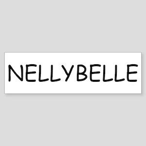 Nellybelle Bumper Sticker
