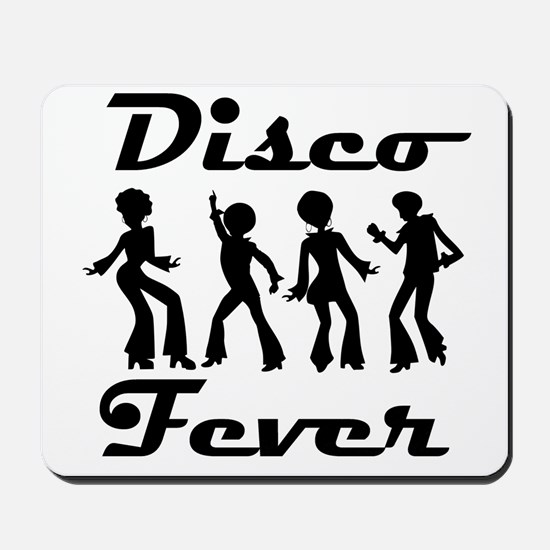 Disco Fever Disco Dancers Mousepad