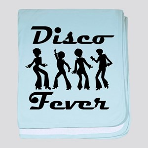 Disco Fever Disco Dancers baby blanket
