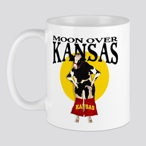 Moon Over Kansas! Mug