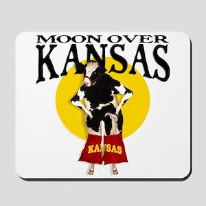 Moon Over Kansas! Mousepad