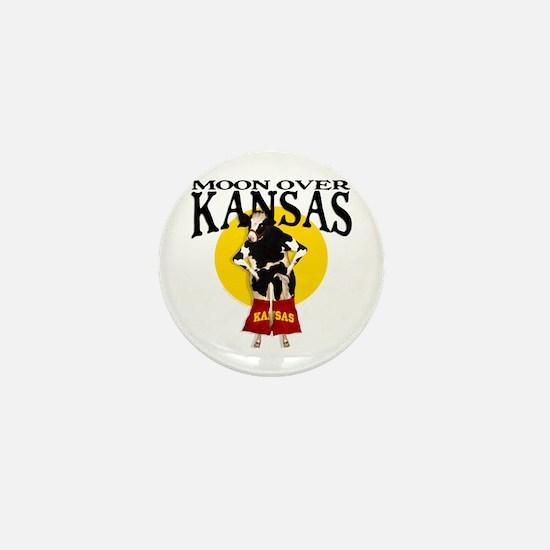 Moon Over Kansas! Mini Button