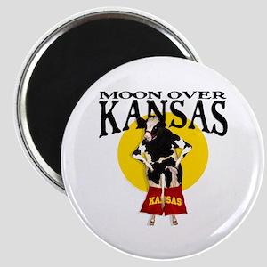 Moon Over Kansas! Magnet