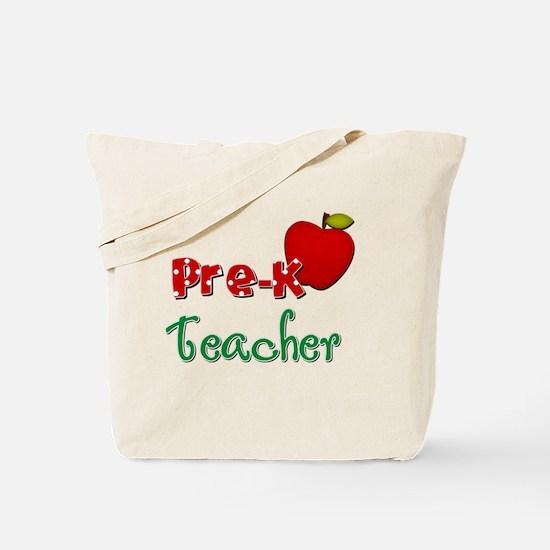 Pre K teacher Tote Bag
