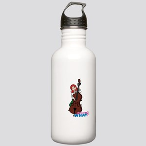 String Bass Player - L Stainless Water Bottle 1.0L