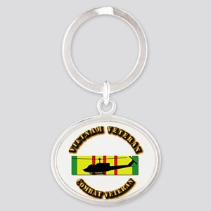 Vietnam - AVN - Air Assault Oval Keychain