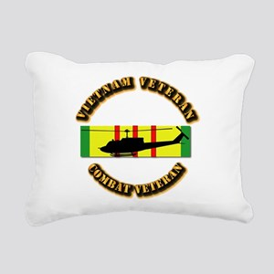Vietnam - AVN - Air Assa Rectangular Canvas Pillow