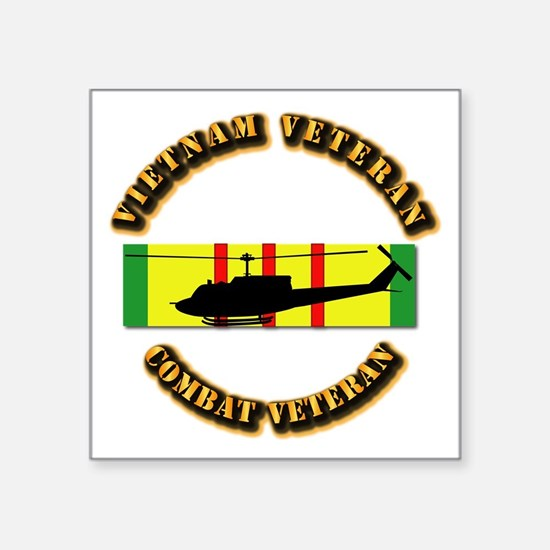 "Vietnam - AVN - Air Assault Square Sticker 3"" x 3"""